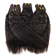 Cabelo Humano Ondulado Cabelo Brasileiro Retas 12 meses 1 Peça tece cabelo