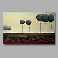 billiga Topp Konstnär-HANDMÅLAD Landskap / Abstrakta landskapModerna En panel Kanvas Hang målad oljemålning For Hem-dekoration