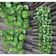 abordables Déco Intérieure-Fleurs artificielles 2 Une succursale style pastoral Plantes Guirlande et Fleur Murale