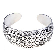 Women's cuff Cuff Bracelet Silver Plated Open Bracelet Jewelry Silver For Party Daily Casual