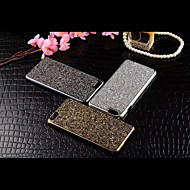 For iPhone 6 etui iPhone 6 Plus etui Rhinsten Etui Bagcover Etui Glitterskin Hårdt Metal for iPhone 6s Plus/6 Plus iPhone 6s/6