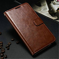 Para Samsung Galaxy Note Carteira / Porta-Cartão / Com Suporte / Flip Capinha Corpo Inteiro Capinha Cor Única Couro PU Samsung Note 3