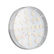 billige -4W 250-300 lm GX53 LED-spotpærer 25 leds SMD 5050 Varm hvit AC 220-240V