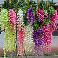 cheap Home Decor-Artificial Flowers 1pcs Branch Polyester Others Wall Flower