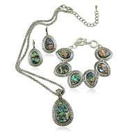 Set bijuterii Pentru femei Aniversare / Zi de Naștere / Cadou / Petrecere / Zilnic / Ocazie specială Set Bijuterii Aliaj Imitație de Perle