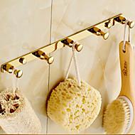 Robe Hook Bathroom Gadget / Ti-PVD Brass /Contemporary