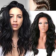 Menneskehår Helblonder uden lim / Halvblonder uden lim / Helblonde Paryk Peruviansk hår Løst, bølget hår / Naturligt, bølget hår Paryk 130% Natural Hairline / Afro-amerikansk paryk / 100 % håndbundet