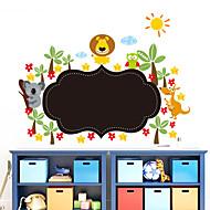 cheap -Decorative Wall Stickers - Blackboard Wall Stickers Landscape / Animals / Romance Living Room / Bedroom / Bathroom