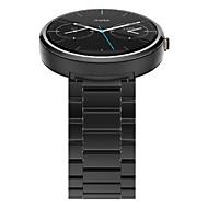 billiga Smart klocka Tillbehör-Klockarmband för Moto 360 Motorola fjäril spänne Rostfritt stål Handledsrem