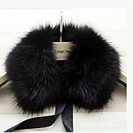 cheap -Sleeveless Faux Fur Party Evening / Casual Fur Wraps / Fur Accessories / Faux Leather With Collars