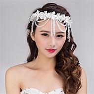 Imitation Pearl Lace Head Chain Headpiece