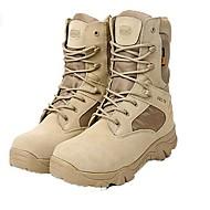 Χαμηλού Κόστους Amir®-Ανδρικά Μπότες Μάχης Δέρμα / Ντένιμ Φθινόπωρο / Χειμώνας Ανατομικό Μπότες Αντιολισθητικό 20.32-25.4 cm / Μποτίνια Μαύρο / Μπεζ