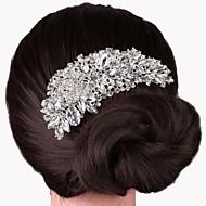 billiga Brudhuvudbonader-Legering Hair Combs 1 Bröllop Speciellt Tillfälle Hårbonad