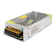 SPD-120w accesorios cctv 12V10A sistema de cámara de metal transformador de alimentación - plata (ac 110-220v)