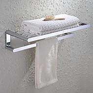 タオルバー 浴室棚 / クロム コンテンポラリー