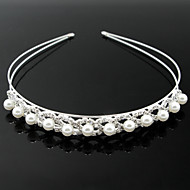 cheap Wedding Headpieces-Imitation Pearl Alloy Headbands 1 Wedding Special Occasion Headpiece