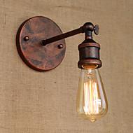billige Krystall Vegglys-Rustikk / Hytte Vegglamper Metall Vegglampe 220V / 110V 40W / E26 / E27