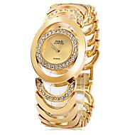 Žene Kvarc Narukvica Pogledajte Casual sat Nehrđajući čelik Grupa Elegantno Moda Srebro Zlatna