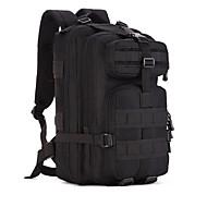 Batohy batoh Vojenský taktický batoh 30 L - Odolné vůči prachu Nositelný Multifunkční Outdoor Outdoor a turistika Lov cestování Plátno Černá Kamufláž Khaki