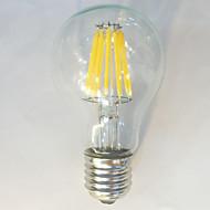 E26/E27 フィラメントタイプLED電球 A60(A19) 12 LEDの COB 防水 装飾用 温白色 ナチュラルホワイト 1050lm 2700K 交流220から240V