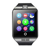 Q18 Herren Smartwatch Android Bluetooth USB Touchscreen Verbrannte Kalorien Freisprechanlage Kamera Distanz Messung Timer Anruferinnerung Schlaf-Tracker Sedentary Erinnerung Finden Sie Ihr Gerät