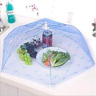 køkken party bord opbevaring af fødevarer dække folde paraply mesh blonder metalramme tilfældig farve