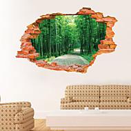preiswerte -Botanisch / Landschaft Wand-Sticker 3D Wand Sticker,PVC 60*90CM