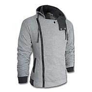 Muška Activewear Setovi Dugih rukava-Sport / Plus veličine,Obično Pamuk / Poliester