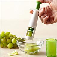 1 stuks Cutter & Slicer For voor Fruit / voor Vegetable RVS Noviteit / Milieuvriendelijk / Creative Kitchen Gadget