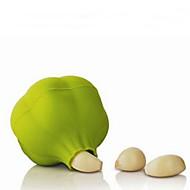 tanie Akcesoria do owoców i warzyw-1 szt. Narzędzia kuchenne Silikon Kreatywny gadżet kuchenny Obieraczka i tarka warzyw / Czosnek