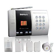 baratos -painel de alarme sem fio em casa com 68 zona + função de campainha inteligente