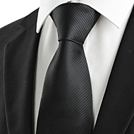 Solmio-Polyesteri,Raidallinen,Musta