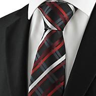 Solmio-Polyesteri,Raidallinen,Musta / Sininen / Punainen
