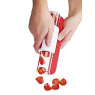 1 parça Kesici ve Dilimleyici For Meyve / Sebze için Paslanmaz Çelik Çevre Dostu / Yaratıcı Mutfak Gadget / Yenilikçi