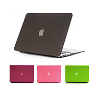 "Case for Macbook Air 11.6""/13.3"" Solid Color ABS Material Newest Quicksand Matte Hard Full Body Case Cover"