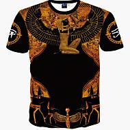 Majica s rukavima Muškarci - Boho Sport Vikend Slim, Print Pamuk