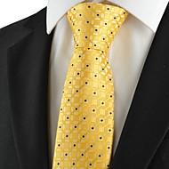 tanie Akcesoria dla mężczyzn-Męskie Luksusowy Kratka Klasyczny Imprezowa Ślub Modne Krawat Kreatywne