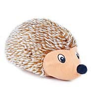 猫用おもちゃ 犬用おもちゃ ペット用おもちゃ ぬいぐるみ キーッ ヤマアラシ 織物 Brown
