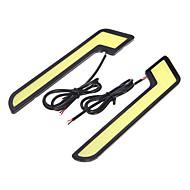 economico Luci diurne-2pcs Auto Lampadine COB LED Luce di posizione For Universali