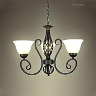 billige Lysekroner-Vintage Vedhæng Lys Op Lys - LED, 110-120V / 220-240V Pære ikke Inkluderet