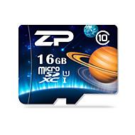 ZP 16GB マイクロSDカードTFカード メモリカード UHS-I U1 クラス10