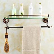 צדף לחדר האמבטיה סל למקלחת גאדג'ט לאמבטיה / מוזהב ניאוקלאסי