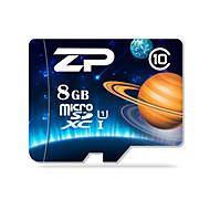 ZP 8GB マイクロSDカードTFカード メモリカード UHS-I U1 クラス10