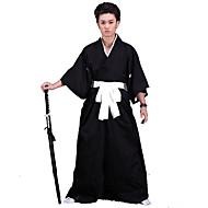 Ihlette A hagyományos japánok Japán harcos / Szamuráj Anime Szerepjáték jelmezek Cosplay ruhák / Kimono Egyszínű Alsónemű / Öv / Kimono kabát Kompatibilitás Férfi / Női