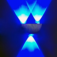 billige Vegglamper-BriLight Moderne / Nutidig Metall Vegglampe 3 W / Integrert LED