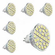 gu5.3 (mr16) led spotlight mr16 29 smd 5050 440lm varm hvit 3000-3500k dekorative AC 220-240v