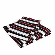 cheap Sheet Sets & Pillowcases-Sheet Set - Microfibre Polyester Stripe 1pc Flat Sheet 1pc Fitted Sheet 2pcs Pillowcases (only 1pc pillowcase for Twin or Single)