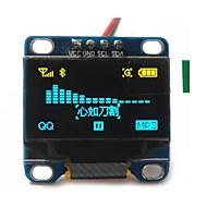 """0.96 """"polegadas amarelo e azul i2c CII série OLED 128x64 oled lcd levou módulo para exibição arduino 51 msp420 stim32 scr"""