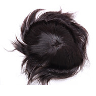 """çevresinde açık pu ile% 100 Hint saç parçası 10 """"x8"""" erkek peruk"""