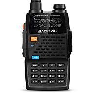 billige Walkie-talkies-BAOFENG Håndholdt Digital UV-5R 4THFM-radio Lader og adapter Stemmekommando Strømskifter høy/lav Type walkie-talkie LCD-display